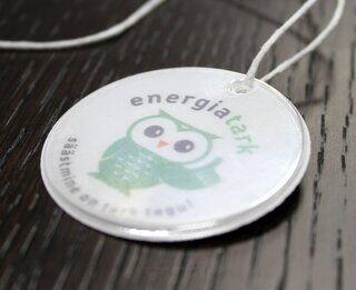 Energiatark - helkur logoga.