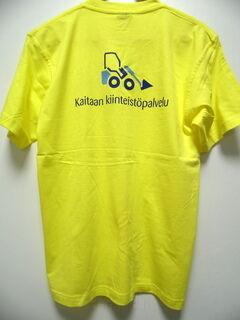 t-paita Kaitaan kiinteistöpalvelu