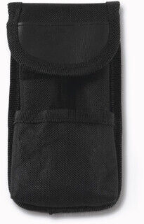 Survival set in a nylon pouch