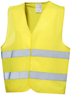 Safety vest in pouch
